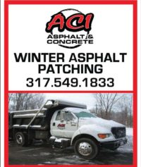 Indianapolis Winter Asphalt Patching 317-549-1833