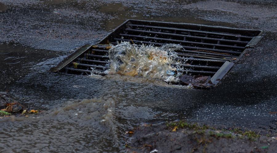 Indianapolis Sewer Drain Pavement Repair