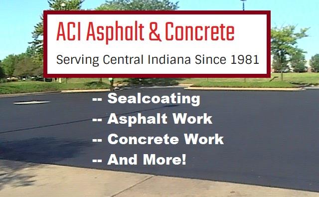 Indianapolis Asphalt Sealcoating Service 317-549-1833