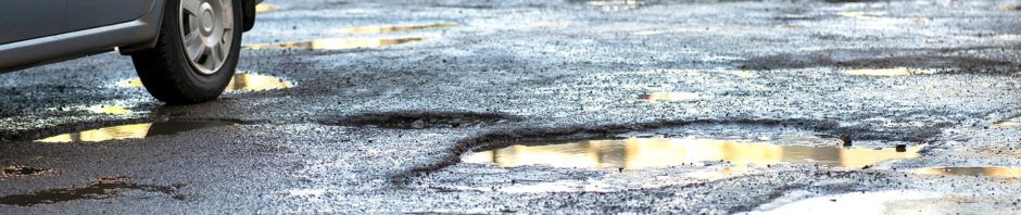 Commercial Pothole Repair in Central Indiana 317-549-1833